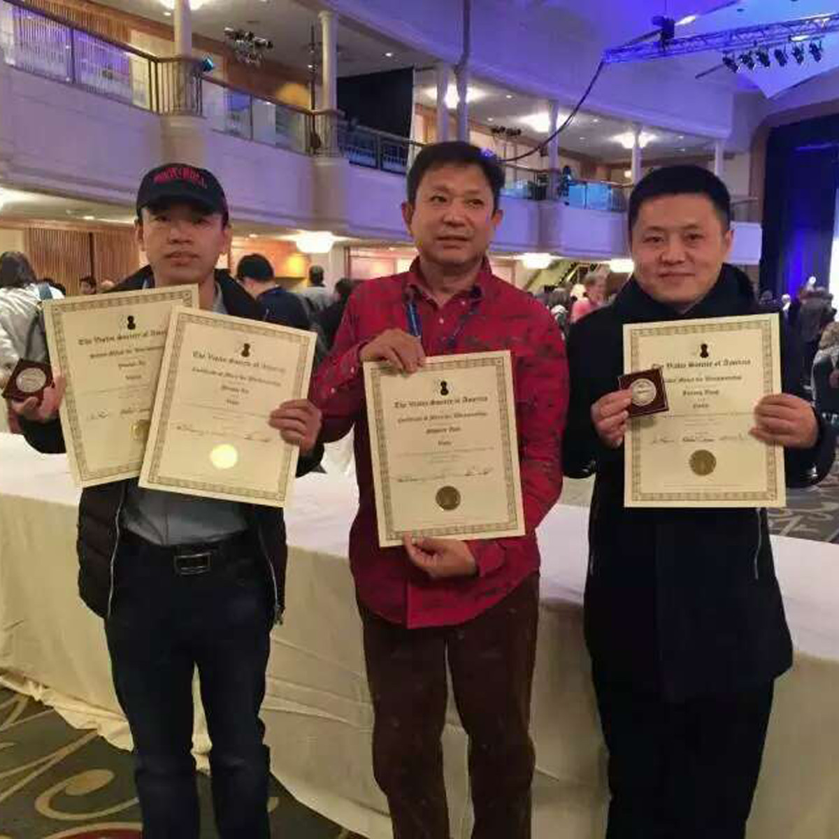 Our Luthiers Win Awards @ 2016 Violin Society of America (VSA) Competition!