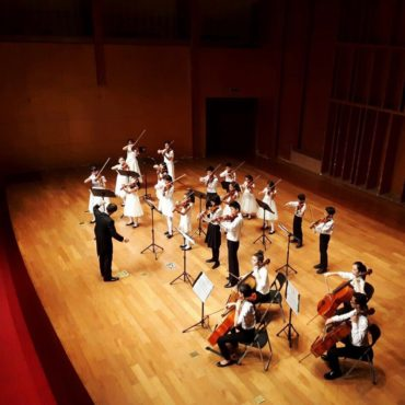 2017 Melody Strings Chamber Orchestra China Concert Tour