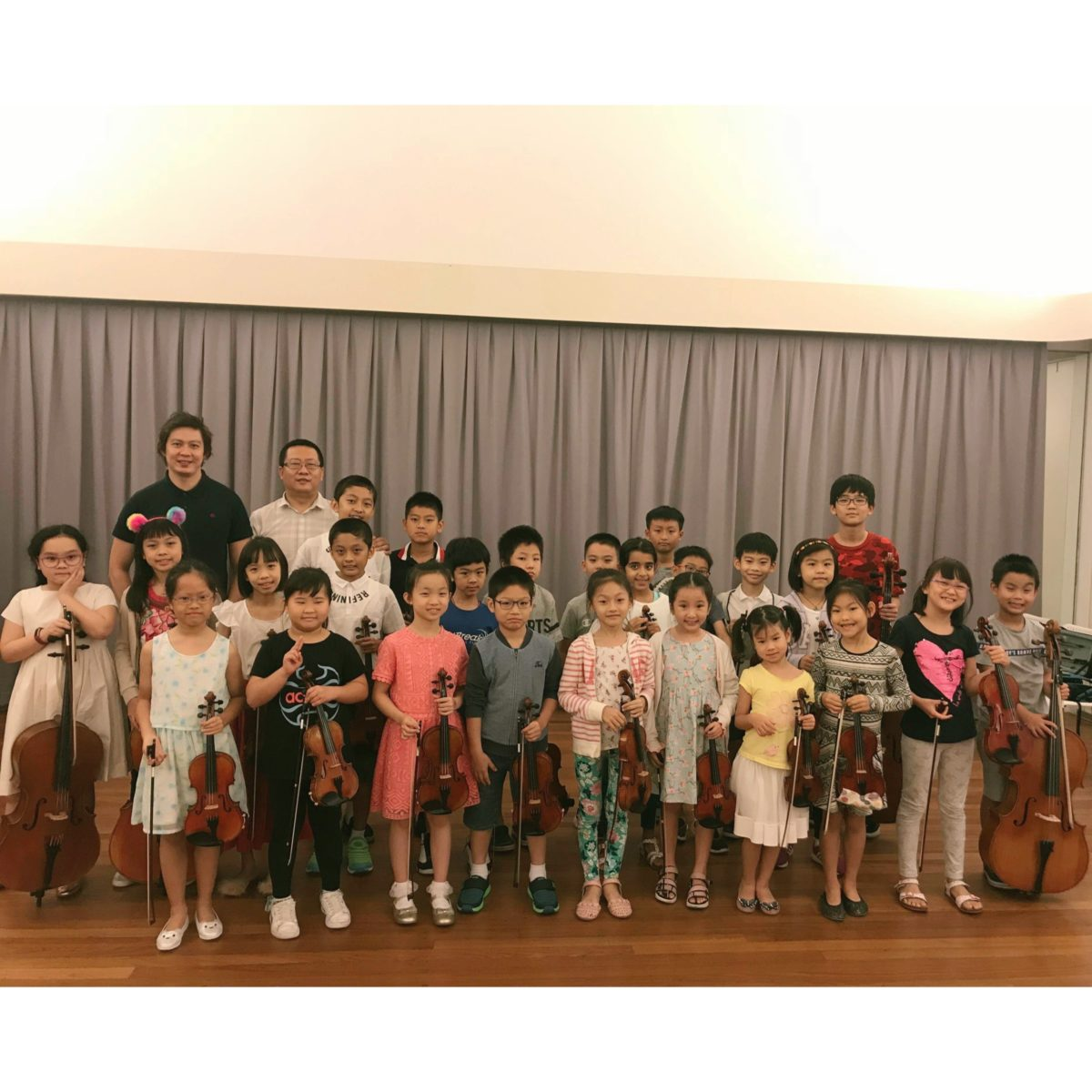 Orchestra Masterclass with Joshua Tan