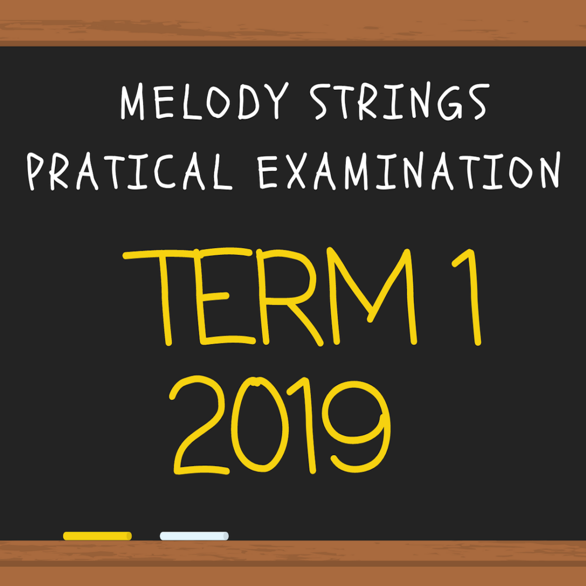 2019 Term 1 Melody Strings' internal practical examination