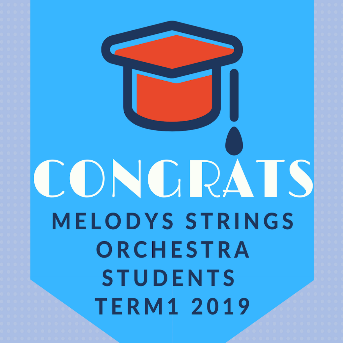Orchestra Students Term 1 2019