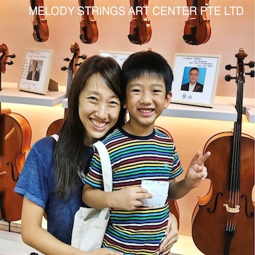 How parents can help to prepare their children for Violin lesson