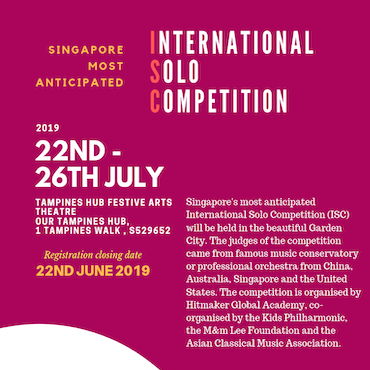 Singapore International Solo Competition 2019