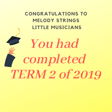 Melody Strings Students Term 2 Internal Examination 2019
