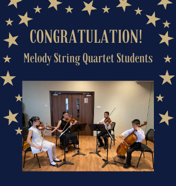 Congrats to our String Quartet students!